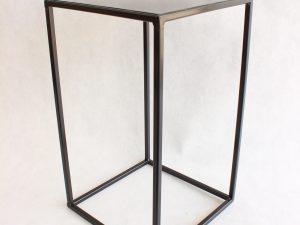 Metalowy Kwietnik-LOFT Industrialny kolor czarny wys. 40 cm