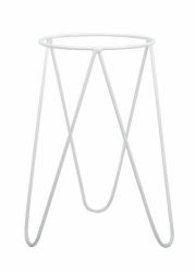 nowoczesny pojedynczy kwietnik loft kolor biały