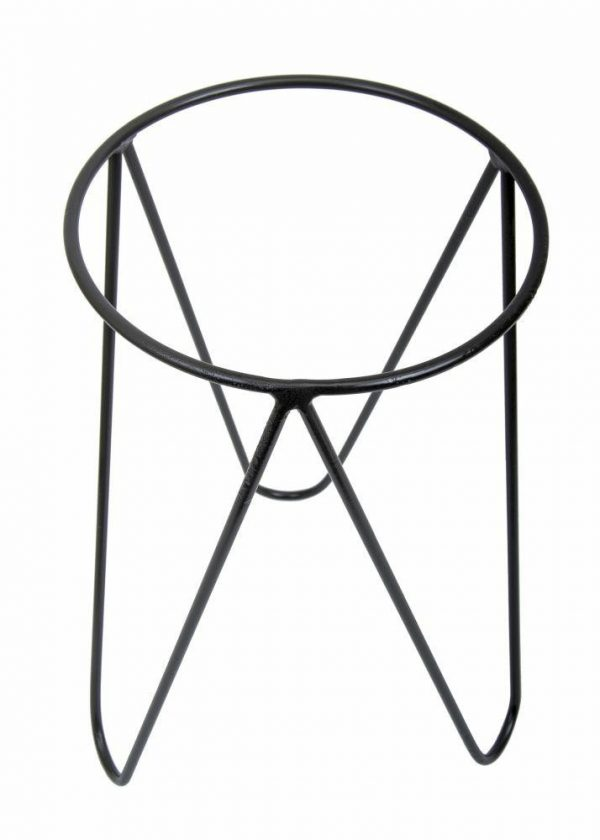 nowoczesny kwietnik trójnóg