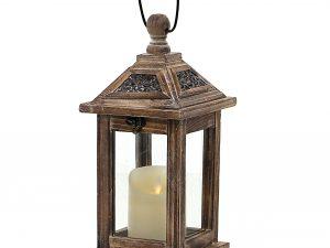 latarnia drewniana