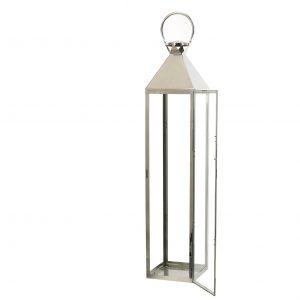 latarnie ze srebrnej stali chromowej