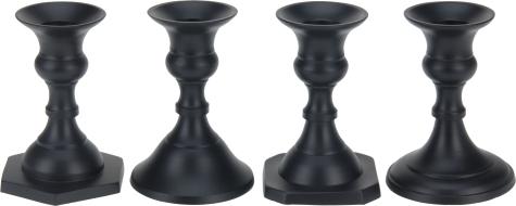 świeczniki metalowe kolor czarny