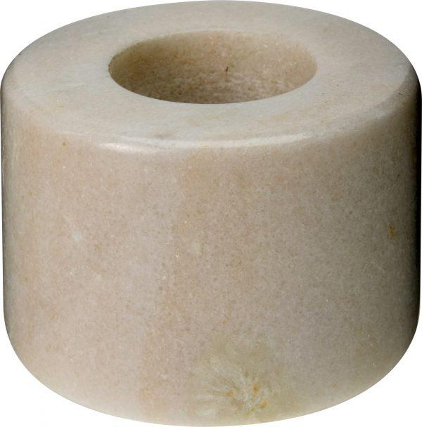 świecznik biały marmur
