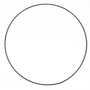 obręcz koło metalowe czarne
