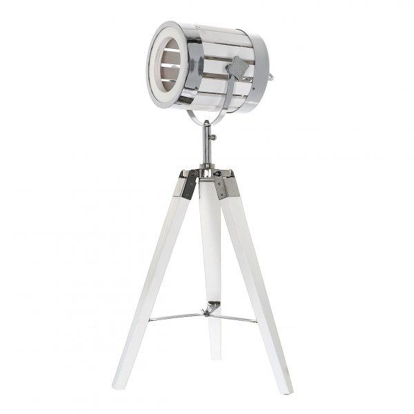 nowoczesna lampa -trójnóg