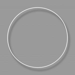 koło obręcz metalowa biała