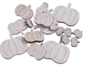dynie drewniane białe mix