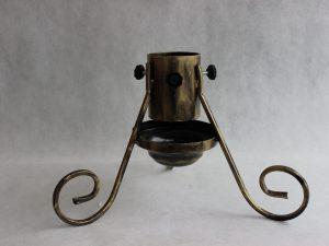 Stojak choinkowy metalowy z misą