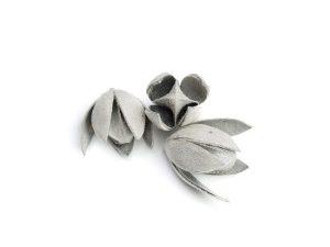 lilly srebrny flock susz egzotyczny