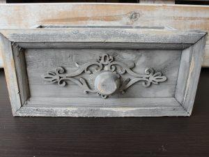 drewniana doniczka,osłonka - szuflada
