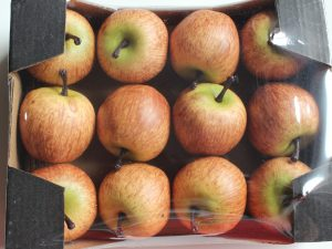 sztuczne jabłka dekoracja