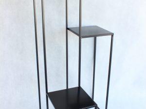Kwietnik Loft kolor czrny wys 85 cm